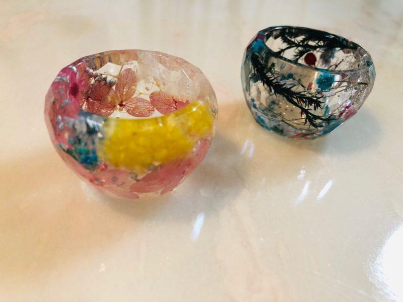 手作りハーバリウム例