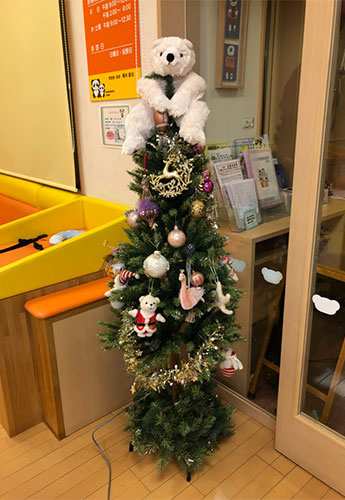 小児科 クリスマス