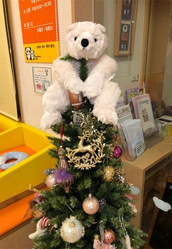橋本こどもクリニック クリスマスツリー
